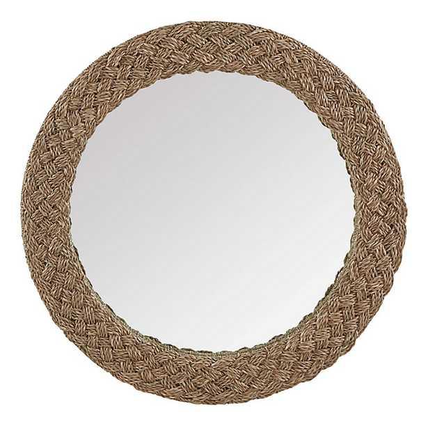 Braided Natural Mirror   - Ballard Designs - Ballard Designs