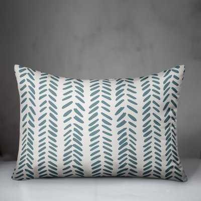 Estevao Modern Herringbone Lumbar Pillow - Wayfair