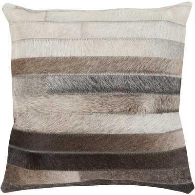 Truesdell Faux Fur Pillow Cover - Wayfair