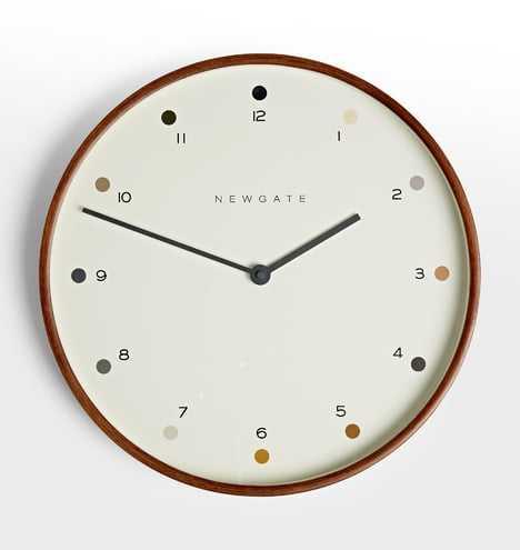 Mr. Clark Dots Clock - Rejuvenation