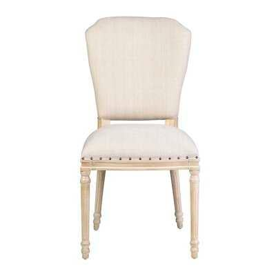 Luella Upholstered Dining Chair (set of 2) - Wayfair