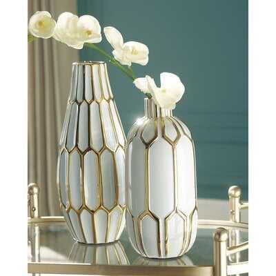 Merkle Vase (Set of 2) - Wayfair