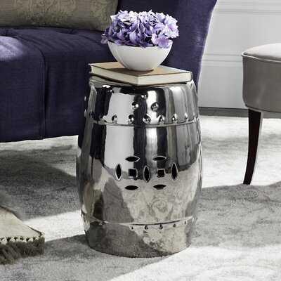 Gagnon Glazed Ceramic Garden Stool - Wayfair