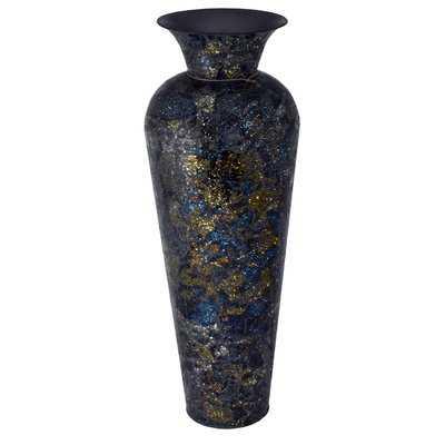 Ebright Modern Mosaic Floor Vase - Wayfair