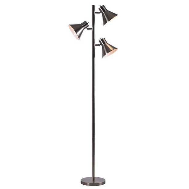 Kenroy Home Ash 64 in. Steel Tree Lamp - Home Depot