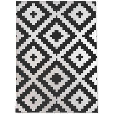 Jamie-Leigh Geometric Black, White Area Rug - Wayfair