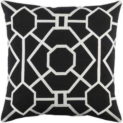 "Gilchrist Cotton Geometric Throw Pillow Cover - 18"" - AllModern"