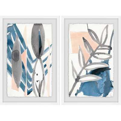 'Oceana Diptych' 2 Piece Framed Print Set - AllModern
