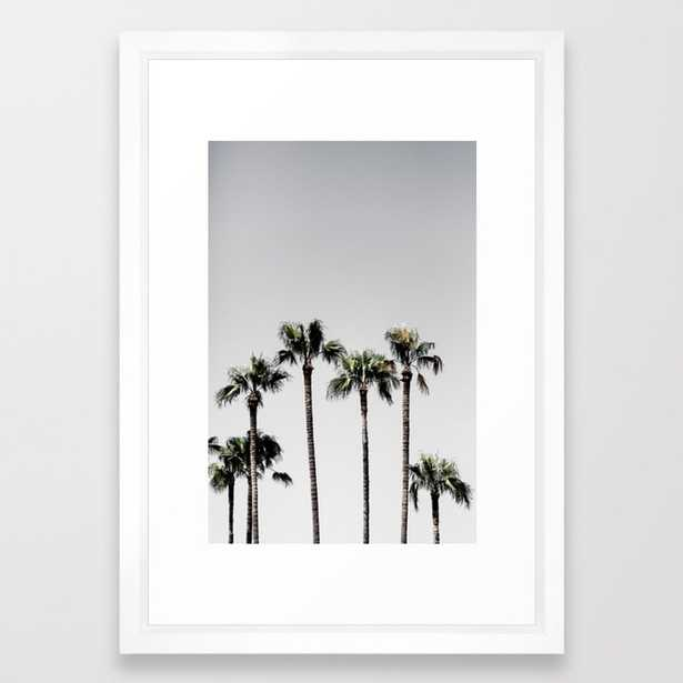 Palm Trees 5 Framed Art Print by Maboe - Society6