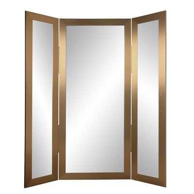 Lincolnshire Full Body Trifold Accent Mirror - Wayfair