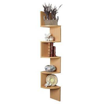 Chrisley 5 Piece Corner Shelf - Wayfair