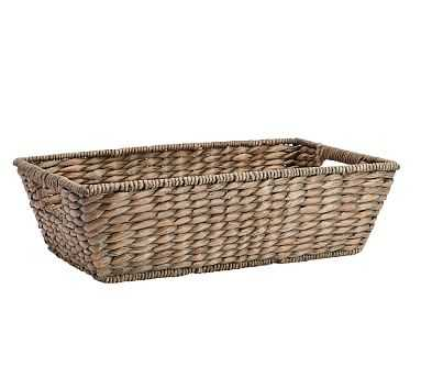 Charleston Basket Underbed, Small - Gray - Pottery Barn