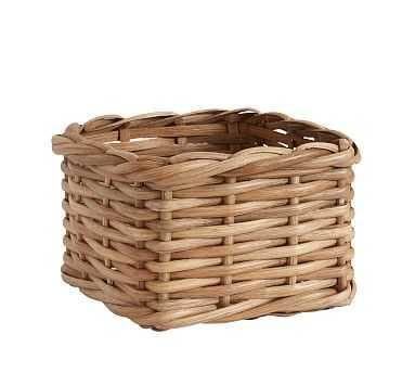 Aubrey Woven Utility Basket - Natural - Pottery Barn