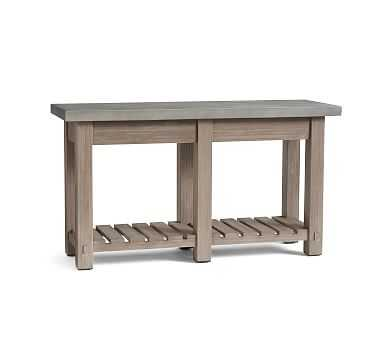 Abbott Console Table, Gray Wash - Pottery Barn