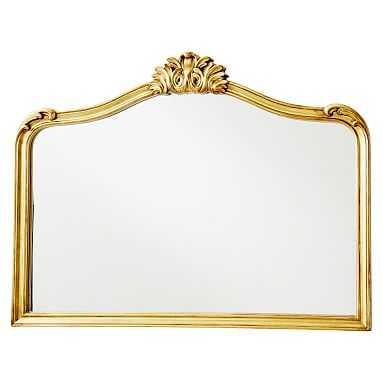 "Ornate Filigree Mirrors, 24""x36"", Brass - Pottery Barn Teen"