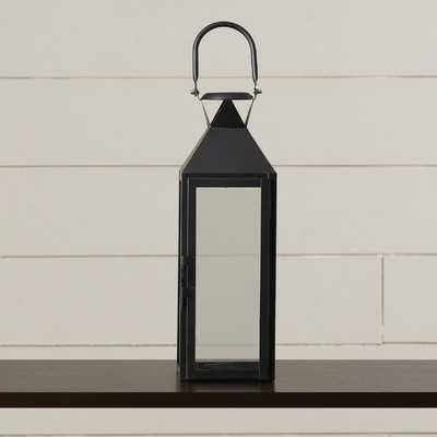 Artemesia Glass and Metal Lantern - Birch Lane