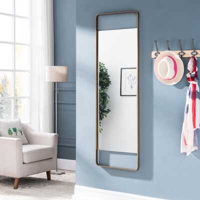 Maurine Decorative Modern and Contemporary Accent Mirror - Wayfair