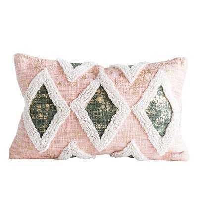 Ammerman Cotton Lumbar Pillow - Wayfair