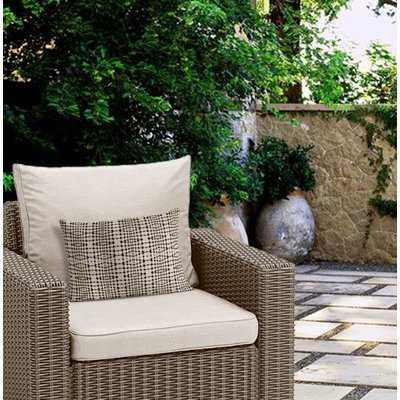 Crossland Tile Stripe Outdoor Lumbar Pillow - Wayfair