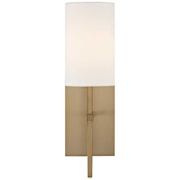 """Crystorama Veronica 16 1/2"""" High Aged Brass Wall Sconce - Style # 55V25 - Lamps Plus"""