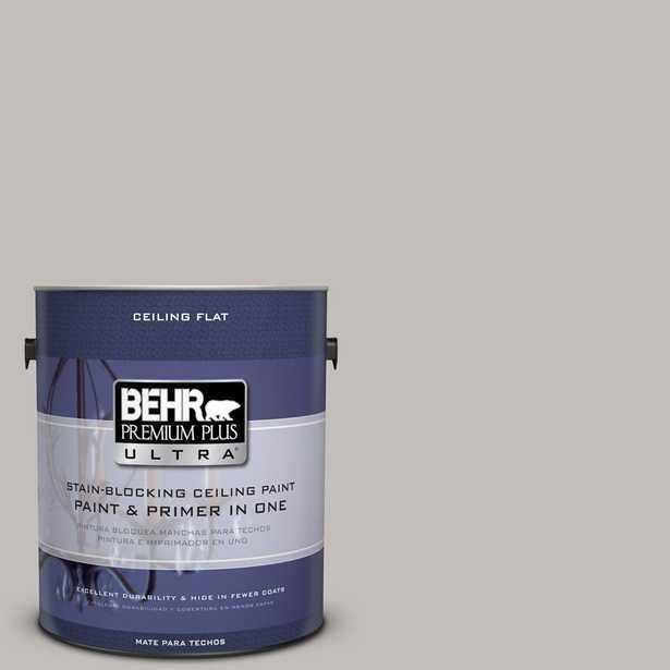 BEHR Premium Plus Ultra 1-Gal. No.UL260-11 Ceiling Tinted to Natural Gray Interior Paint, Natural Gray  #ul260-11 - Home Depot