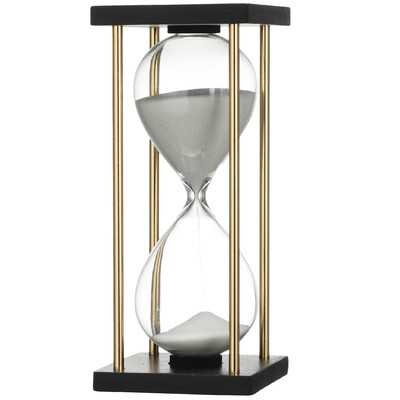 Ophelie Hand-crafted MDF Hourglass in Stand - AllModern