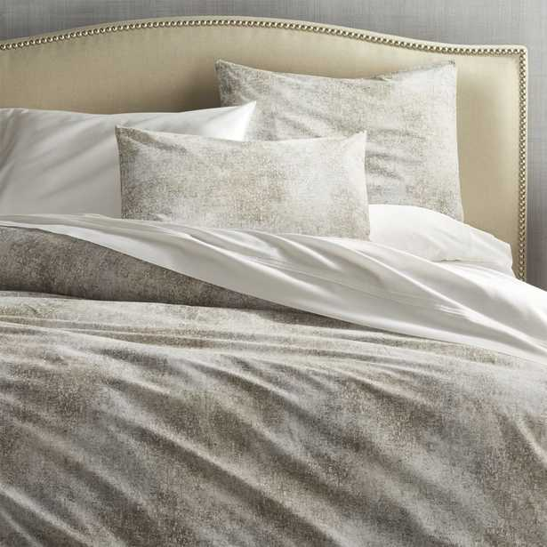 Ostin King/ Cal. King Printed Duvet Cover - Crate and Barrel