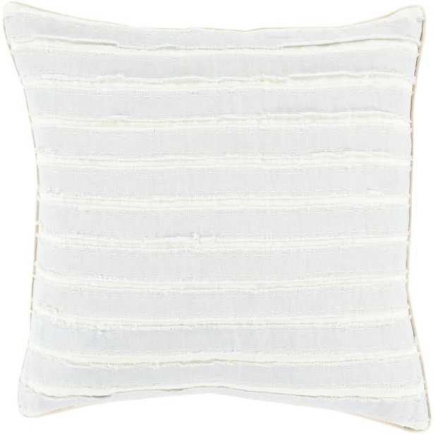 Aristaios Poly Euro Pillow, Blue - Home Depot