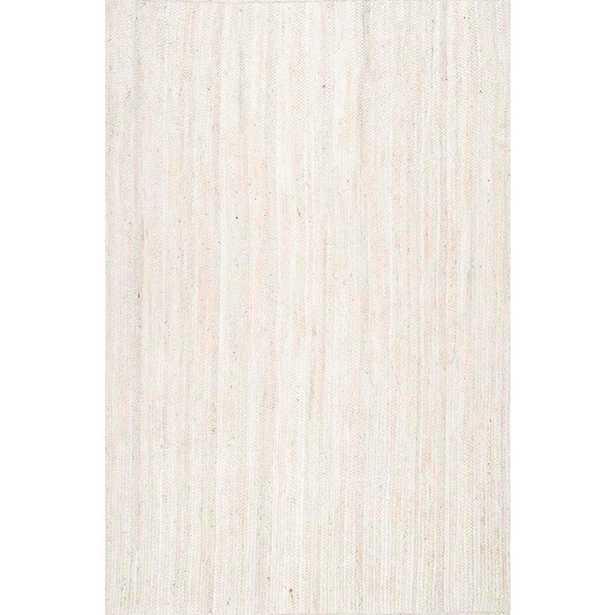 Rigo White 8 ft. x 10 ft. Area Rug - Home Depot