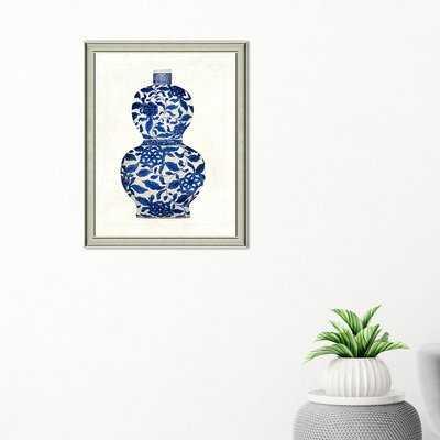 'Porcelain Vase' Picture Frame Graphic Art - Birch Lane