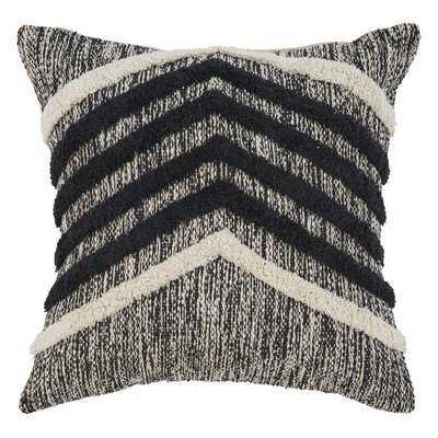 Chute Fringe Metallic Cotton Throw Pillow - Wayfair