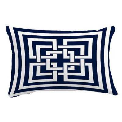 Callaway Greek New Key Lumbar Pillow Lumbar Pillow - Wayfair