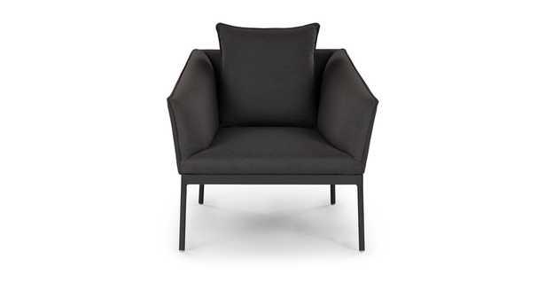 Palo Sula Gray Lounge Chair - Article