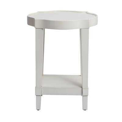 Hickey White Side Table - Wayfair