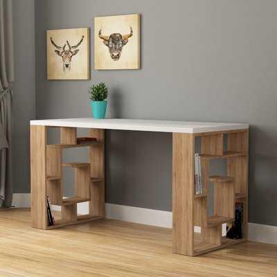 Inispollan Modern Desk - Wayfair