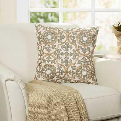 Severus Fleur Pillow Cover - Birch Lane