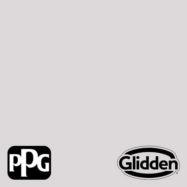 Glidden Premium 1-gal. Go To Gray PPG1004-1 Eggshell Interior Latex Paint - Home Depot