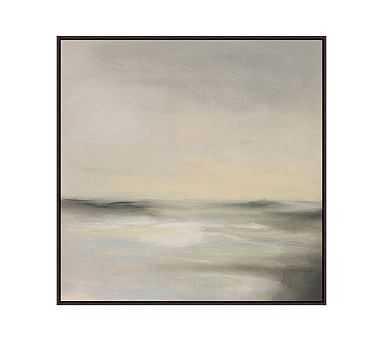 """Coastal Sands 2 Framed Canvas, 31"""" x 31"""" - Pottery Barn"""