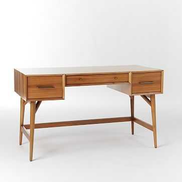 Mid-Century Desk - Acorn - West Elm