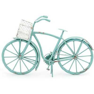 Jayesh Retro Decorative Iron Bike - Wayfair