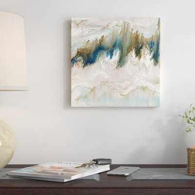 'Mineral' Graphic Art Print on Canvas - Wayfair
