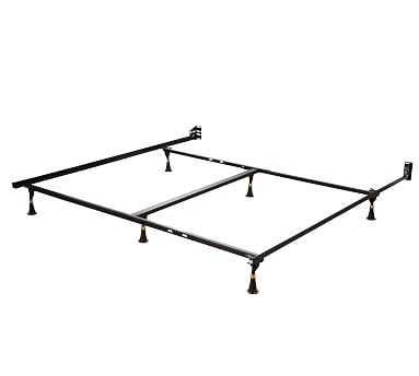 Metal Bed Frame, King/California King - Pottery Barn