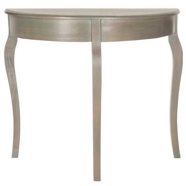 Sema Ash Grey Console Table - Home Depot