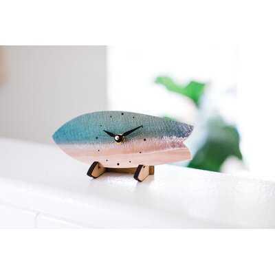 Beach Coastline Surfboard Table Clock - Wayfair