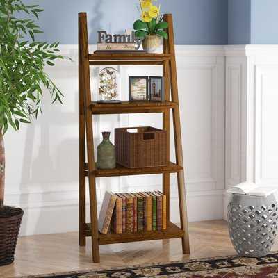 Bordelon Slatted Ladder Bookcase - Wayfair