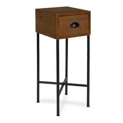 Varian Wood Side End Table - Wayfair