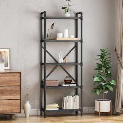 Head Iron 5 Shelf Etagere Bookcase - Wayfair