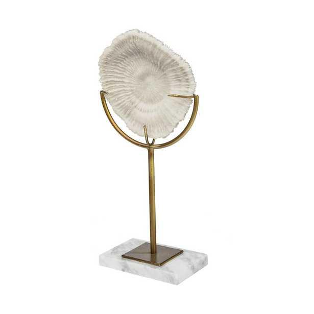 Mercana Sandy II Medium Decorative Object, White - Home Depot