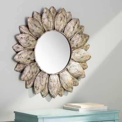 Seema Round Wall Mirror - Wayfair