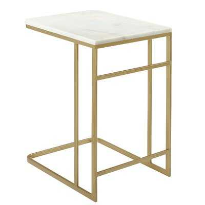Chadwick Marble End Table - AllModern